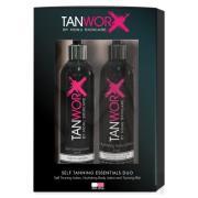 Tanworx Tanning Essential Duo - Fair/Medium