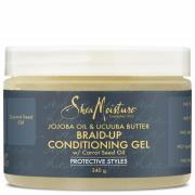 Shea Moisture Jojoba Oil & Ucuuba Butter Braid Up Conditioning Gel 340g