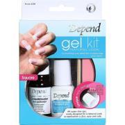 Gel Kit Natural Look,  Depend Kunstige negle