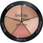 Face Wheel All-In-One  IsaDora Sminkepaletter