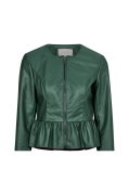 Jakke viZozo Faux Leather Jacket