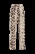 Bukser viAmella Pant, slangeskindsmønstret