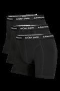 Boxershorts Noos Solids, 3-pak
