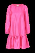Kjole viRichter L/S Flounce Dress