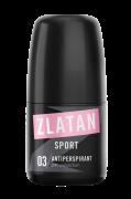 Zlatan Sport Pour Femme Antiperspirant Deo Roll 50 ml