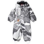 Reima Reimatec® Luosto Snowsuit Soft Grey 74 cm (7-9 mdr)